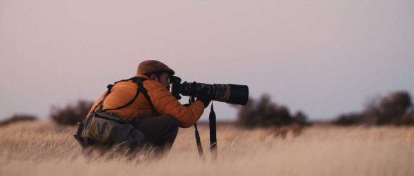"Fine-art photographer Eliseo Miciu chase the elusive Patagonian wild horses - Still frame from the documentary ""Land of The Wind"""